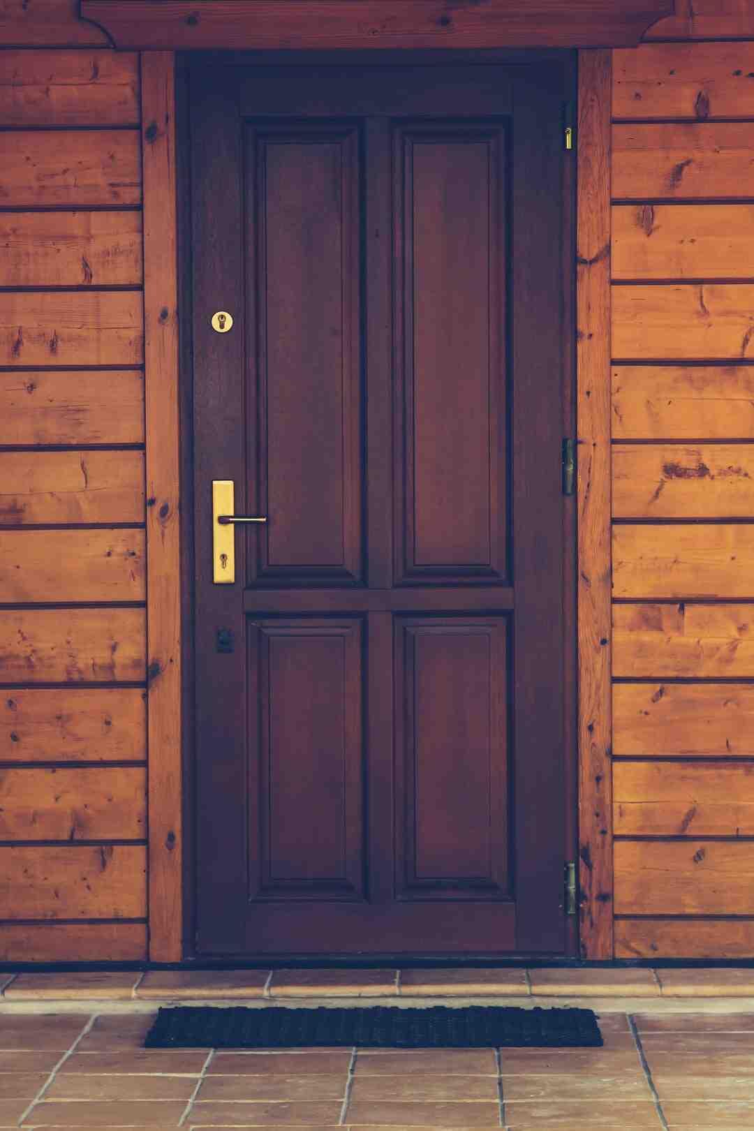 Comment installer une porte